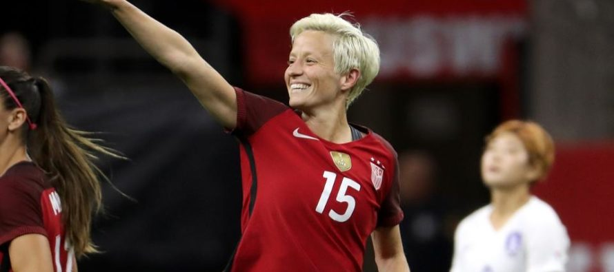Megan Rapinoe Protests 'Racist' National Anthem Again Suffering The Consequences