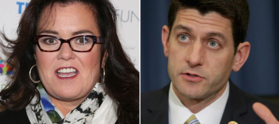 Rosie O'Donnell Launches UNHINGED Christmas Day Attack On Paul Ryan – 'You Are Going Straight To Hell…'