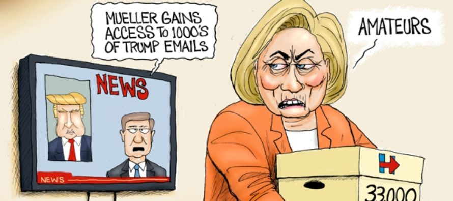 Muellers Got Mail (Cartoon)