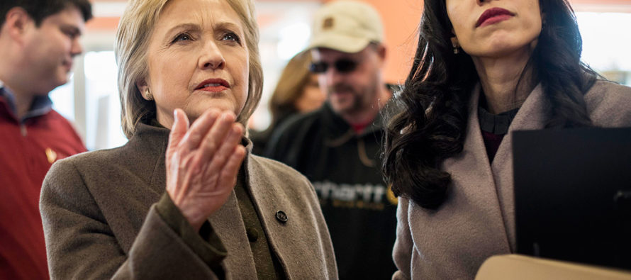 State Department DROPS THE HAMMER On Huma Abedin – Hillary Panicking…
