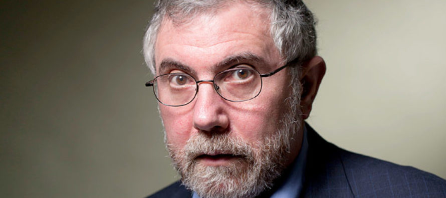 Paul Krugman Calls for Making Pink Pussy Hats the Symbol of Delivery from Evil