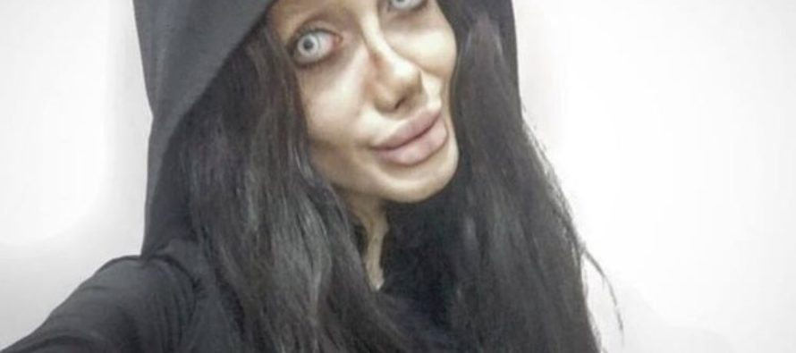 Angelina Jolie fan claims she had FIFTY surgeries to make her face look like her idol
