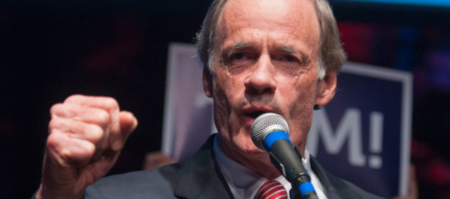 Dem. Sen. Tom Carper ADMITS To Beating His Wife [VIDEO]