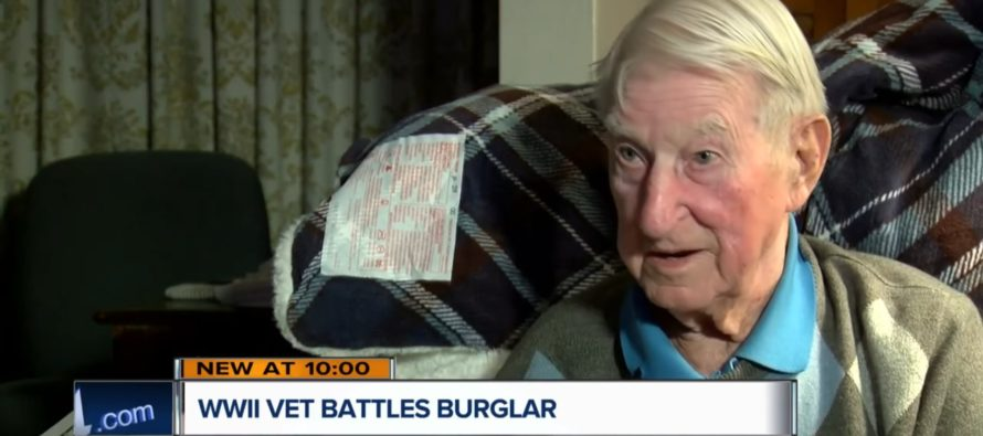 Thug Tries To Rob 95 Year-Old WWII Vet — Gets Taught A Lesson He'll Never Forget [VIDEO]