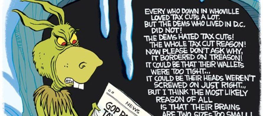 Grinch Democrats (Cartoon)