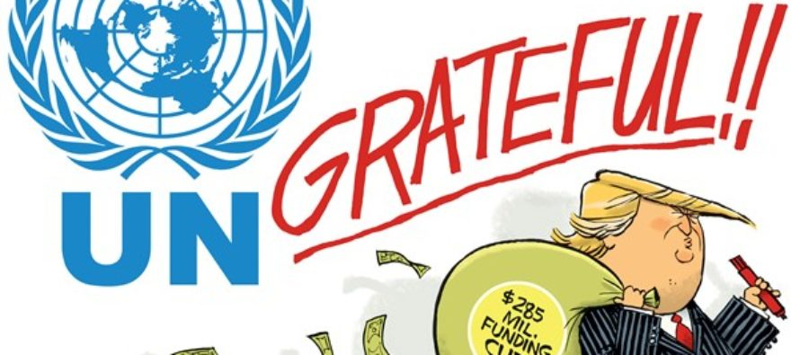 Ungrateful UN (Cartoon)