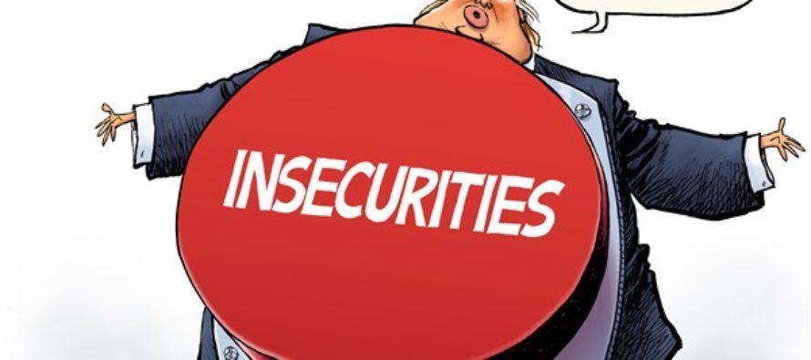 Trump Button (Cartoon)