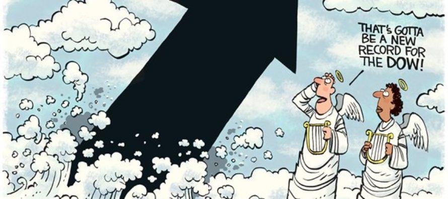 Dow Record (Cartoon)