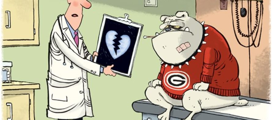 UGA Heartbreak (Cartoon)