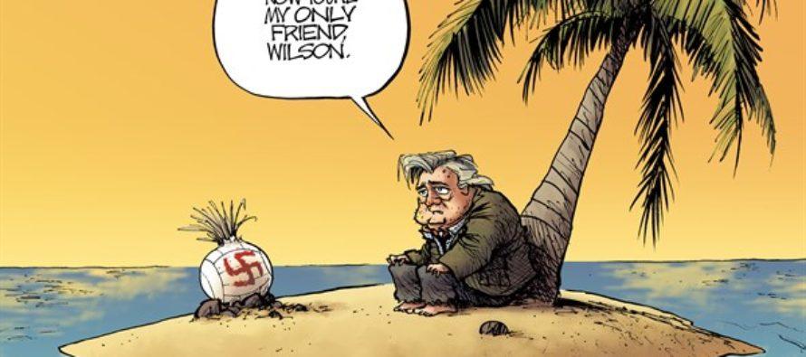 Steve Bannon (Cartoon)