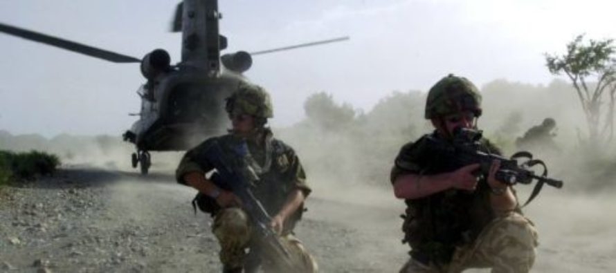 Afghanistan: SAS Troops Running Low on Ammo Vow to Fight to the Death Rather Than Surrender to ISIS