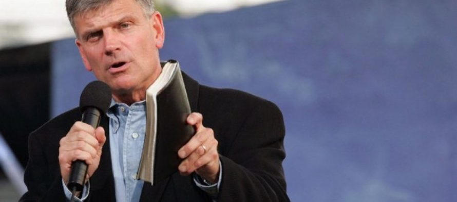 Government Officials Call For Rev. Franklin Graham To Be Barred From Entering The UK
