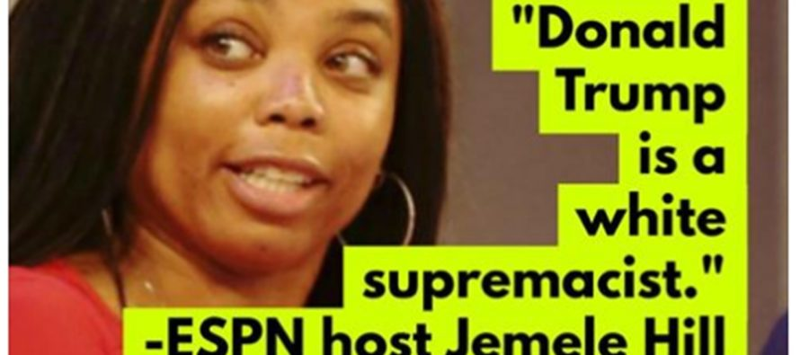 ESPN Host Says She Doesn't Regret Calling Trump 'White Supremacist' Despite What's Happened To Her