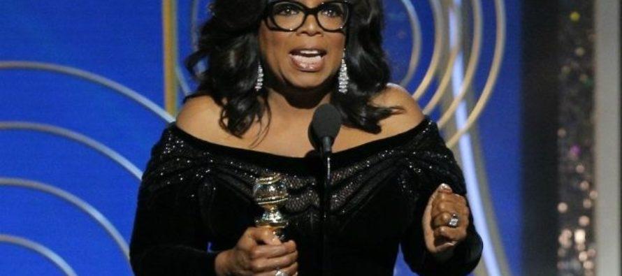 Celebrities Call for Oprah to Run for President Following Golden Globes Speech [VIDEO]