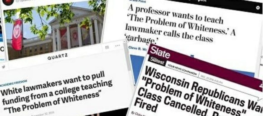 """University Offers """"The Problem of Whiteness"""" Class – Despite GOP's Efforts To Cancel It"""