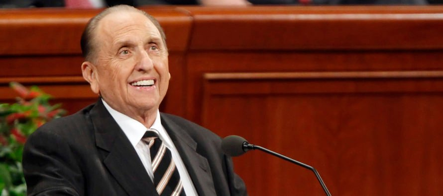 Mormon President Thomas S. Monson Has Passed Away