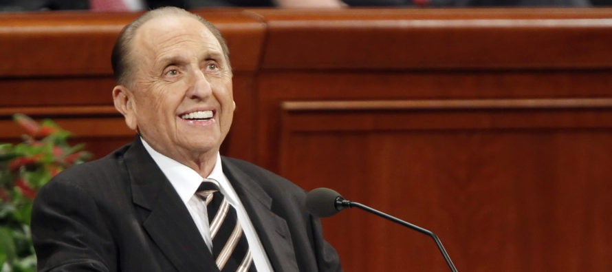 Mormon President Thomas S. Monson Has Passed Away