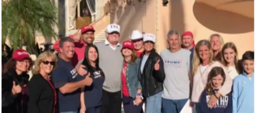 After Trump's Motorcade Passed a Group of his Supporters, They Received a Presidential Invitation [VIDEO]