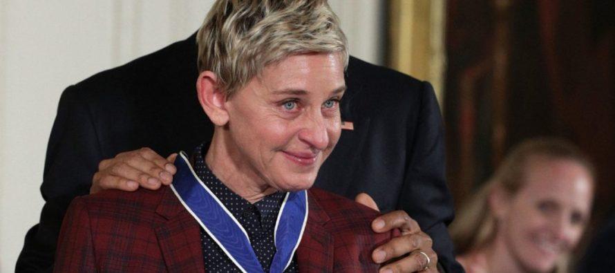 Ellen DeGeneres Gets Emotional After Being Forced To Flee Her Home To Safety