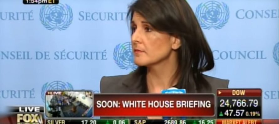 Nikki Haley Will Drop the Hammer On UN Members That Voted Against Jerusalem Move [VIDEO]