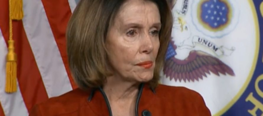 Pelosi: 'Companies Giving Bonuses After Tax Cut Are PATHETIC, It's INSIGNIFICANT!'