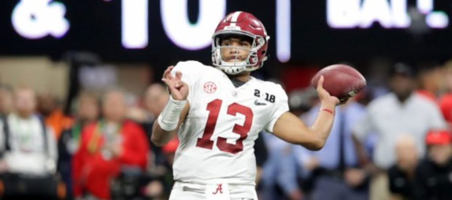 Hero National Championship Quarterback Says Thank You to 'My Lord And Savior Jesus Christ' For Win