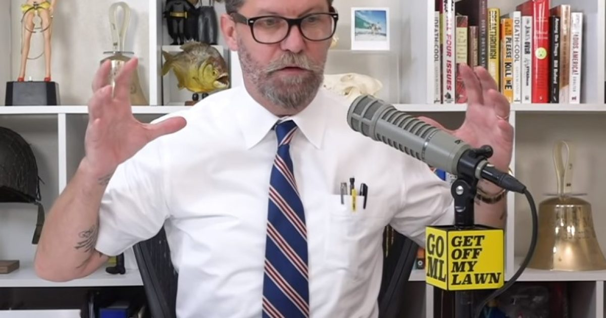 Gavin McInnes Explains Why Feminism Makes Women Unhappy | John Hawkins' Right Wing News
