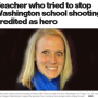 School Shooting Rampage ended when 'HERO' teacher confronted gunman