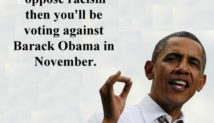 Barack Obama Is An Anti-White Racist